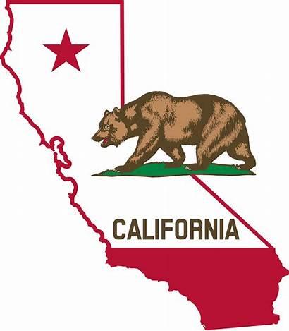 Flag California Outline