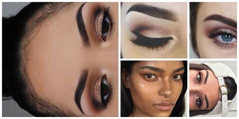 eyebrow trend smokey bushy brushed  fashion tag blog