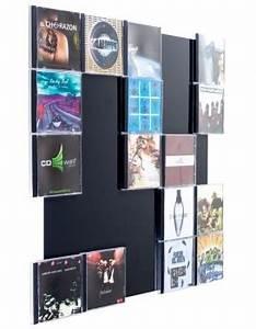 Cd Aufbewahrung Design : cd wall5x5 wandregal schwarz lackiert cd regal aufbewahrung wandregal regalwand ebay ~ Sanjose-hotels-ca.com Haus und Dekorationen