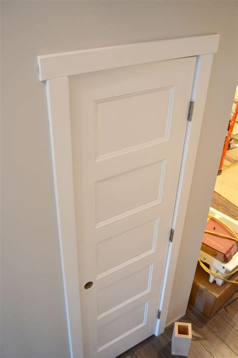 Style Doors by Painting Doors With A Streak Free Finish Where We Found