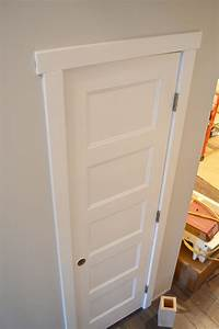 door trim styles Painting Doors with a Streak-Free Finish (+ Where We Found ...