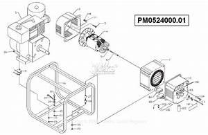 Powermate Formerly Coleman Pm0524000 01 Parts Diagram For