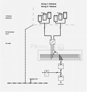 Single Line Diagram Of Solar Power System