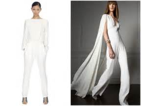jumpsuit wedding and the wore the trousers bridal musings