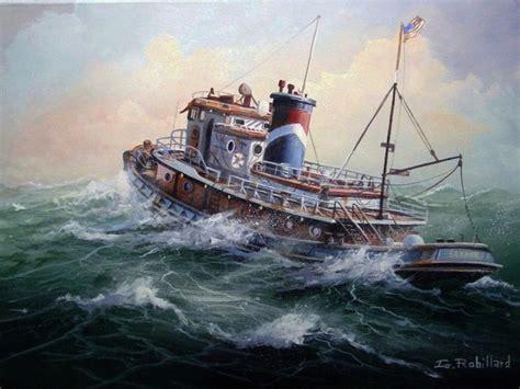 Lobster Boat In Rough Seas by Gallery