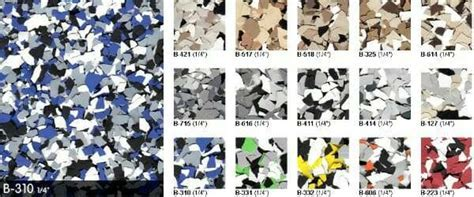 How to Use Color Flakes and Color Chips for Epoxy Coatings