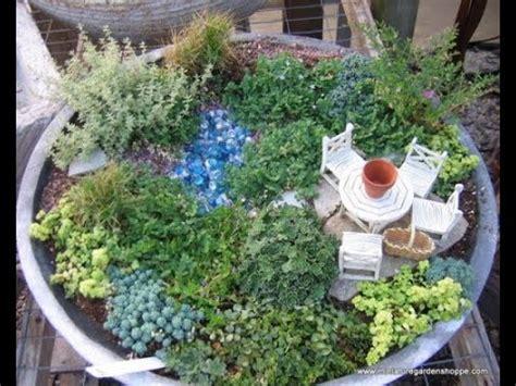 Mini Garten Diy Ideen Youtube