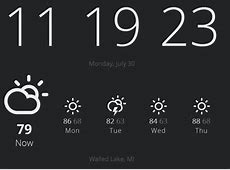 Turn Chrome's New Tab Into a Stylish Clock and Weather