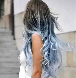 Blaue Haare Ombre : blau lila rot und haarfarben styleinspiration bunte haare ombr haare und haar ideen ~ Frokenaadalensverden.com Haus und Dekorationen