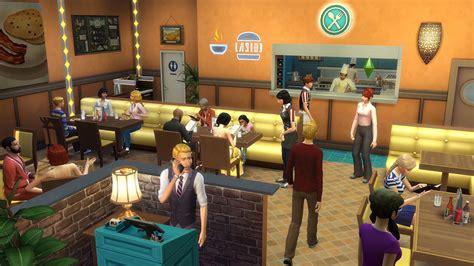 restaurant sims 4