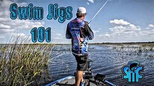 new fishing tip how to properly fish a swimming jig