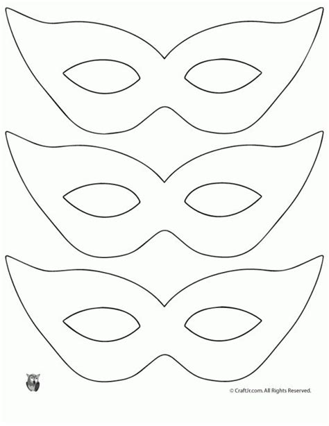 Mask Template Printable Masquerade Mask Template Entertaining