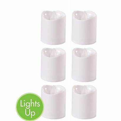 Candles Flameless Led Votive 6ct Party Lights