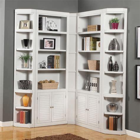 Folding Corner Bookcase Wall Mounted Bookshelves