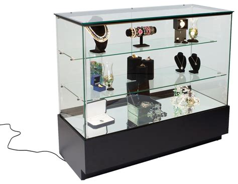 cabinet trash glass jewelry display cabinets view showcases