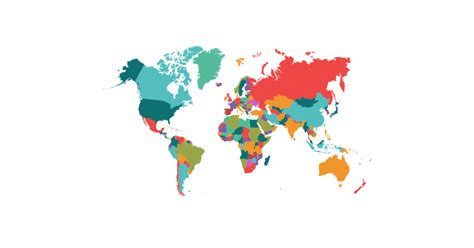 Political Map of the World - Free Vector and Transparent ...