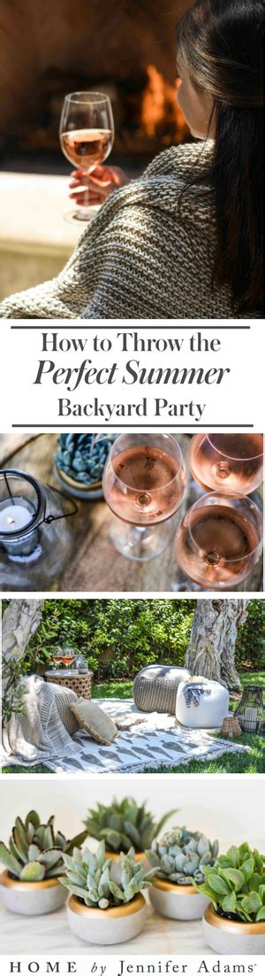 How To Throw A Summer Backyard by Whenwegather How To Throw A Summer Solstice