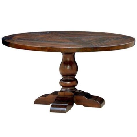 distressed wood dining table 54 quot reclaimed rustic dining table distressed x inlay 7814