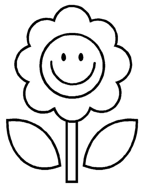 17 best easy coloring pages for images on 186 | 036c11d26045b80255ecd1d0f2cd526a flower images pictures of flowers