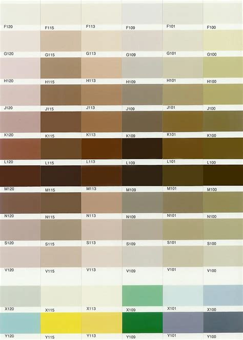 color place paint color chart olala propx co