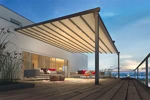Der Moderne Sonnenschutz Auf Der Terrasse LIVVIDE