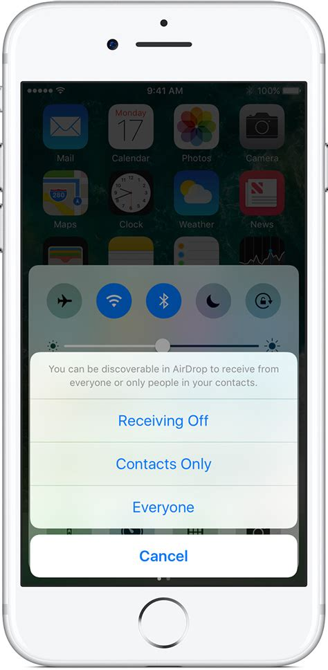 to airdrop from iphone to iphone content with airdrop on your iphone or ipod
