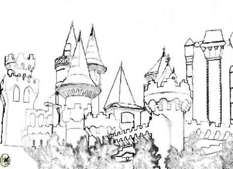 gogh chambre à arles coloriages coloriage du château de mélusine fr hellokids com