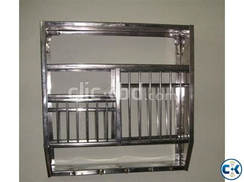 stainless steel wall mounted plate rack clickbd