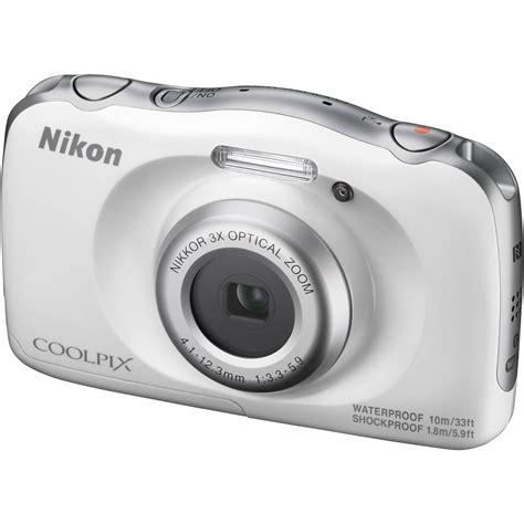 coolpix w100 sle photos nikon coolpix w100 digital white 26515 b h photo Nikon