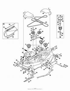 Mtd 13ar91pp099  247 289810   2010   Pyt9000 13ar91pp099  2010  Parts Diagram For Mower Deck 50
