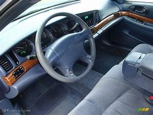 Medium Blue Interior 2001 Buick Lesabre Custom Photo