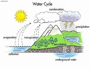 Easy To Draw Water Cycle Diagram