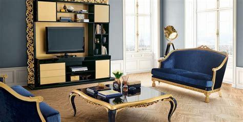 deco baroque du salon pour  interieur luxueux