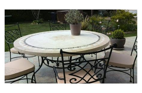 Patio Table by 49 63 Quot Outdoor Patio Table Marble Mosaic Mexico