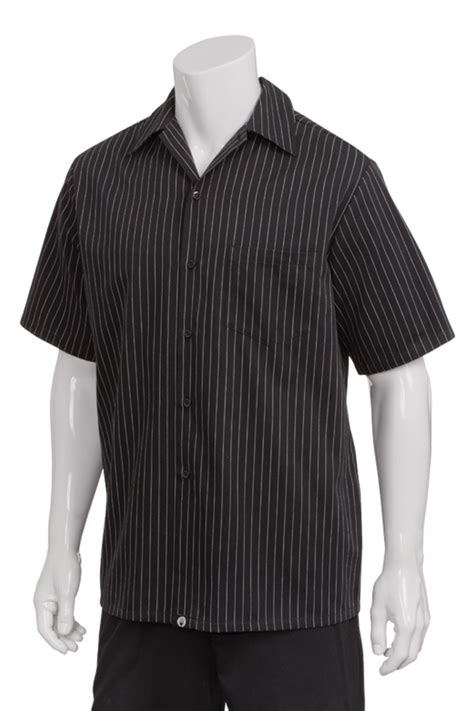 chef works philippines pinstripe cook shirt ccsb