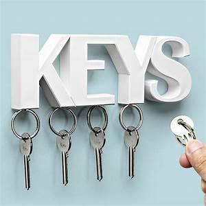 Keys, Key, Holder, White, By, Qualy