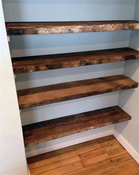 Wood Shelves 31 magnificent reclaimed wood shelves