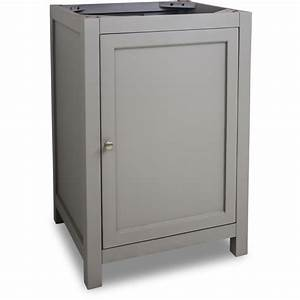 Jeffrey alexander van103 24 grey astoria modern collection for Bathroom vanities 24 inches wide
