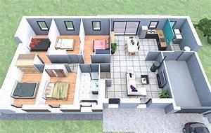 Créer Son Propre Plan De Maison Gratuit : plan de maison trouver un logiciel gratuit et facile ~ Premium-room.com Idées de Décoration