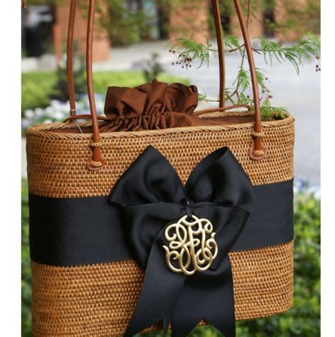 large oval bali bag bow  motif
