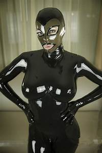 Height Weight Chart Black Women 39 S Rubber Zentai Catsuit With