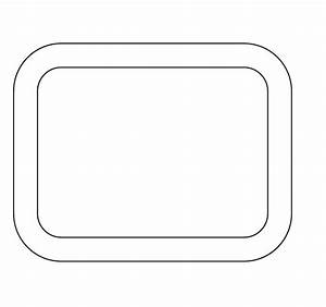 Rounded Rectangle Frame | www.pixshark.com - Images ...