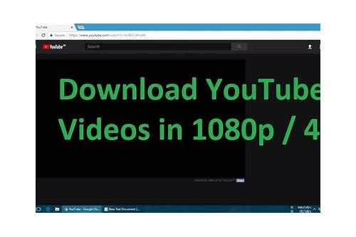 download youtube videos hd 720p