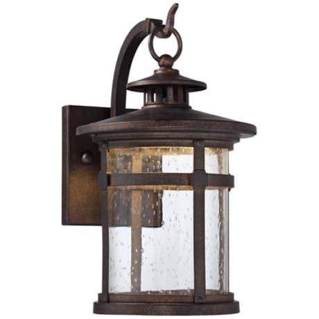 casa mirada 12 quot high vintage bronze outdoor wall light in