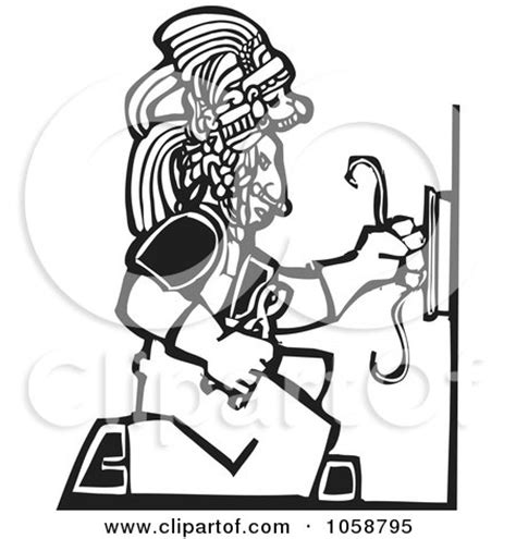 11271 electrician clipart black and white royalty free vector clip illustration of a black and