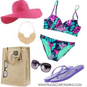 frugal fashion friday swim suit polyvore concept