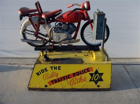 Bally Police Bike Kiddie Ride