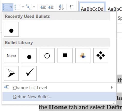 how to use a picture as bullets in ms word technastic