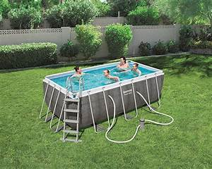 Piscine Bestway Rectangulaire : piscine bestway rectangulaire power steel rotin 412 x 201 ~ Melissatoandfro.com Idées de Décoration