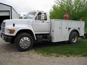 Ford F800  1995    Utility    Service Trucks